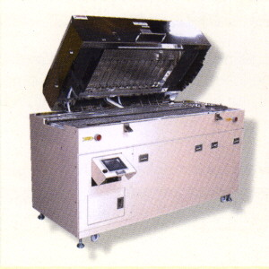 Roller conveyer type photo